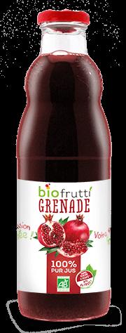 Pur jus de grenade bio Biofrutti