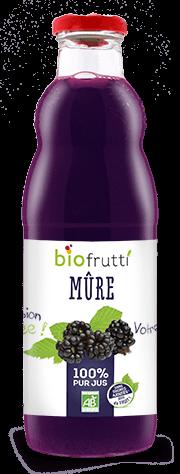 Pur jus de mûre bio Biofrutti