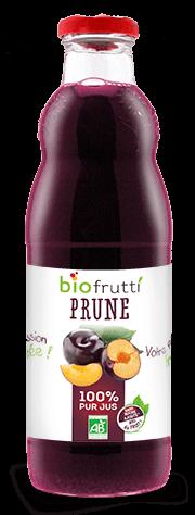 Pur jus de prune bio Biofrutti