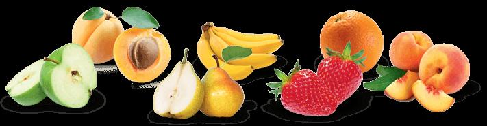 Fruits matin calin