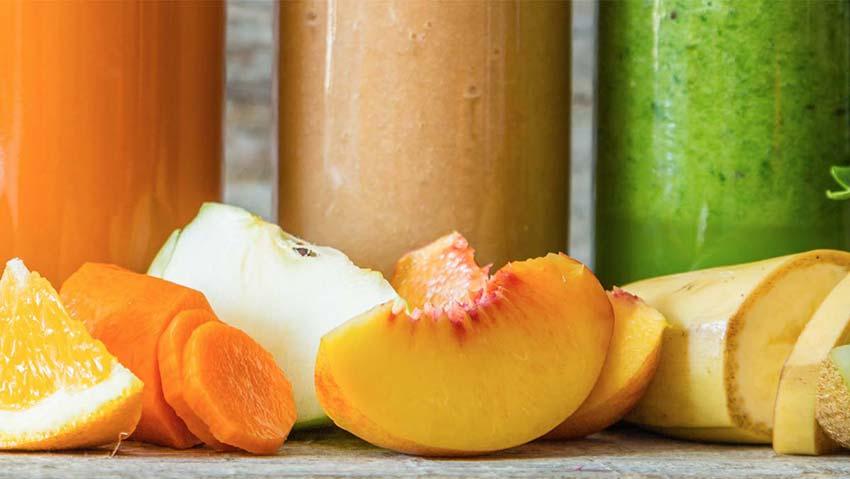 Jus de fruits multifruits