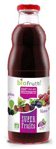 100% pur jus multifruits super fruits Biofrutti