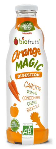 Orange Magic boisson DETOX Biofrutti