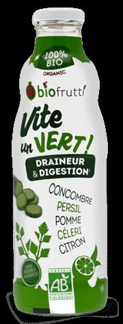 Vite un vert boisson DETOX Biofrutti