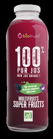 100% pur jus multifruits coco tropical Biofrutti
